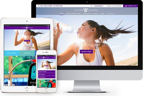 Responsive website development singapore