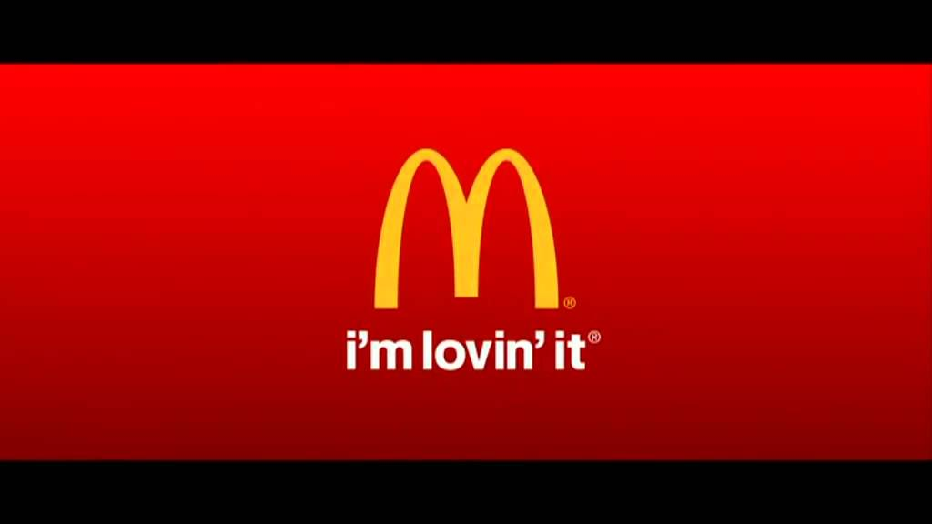Mcdo logo, i'm lovin' it