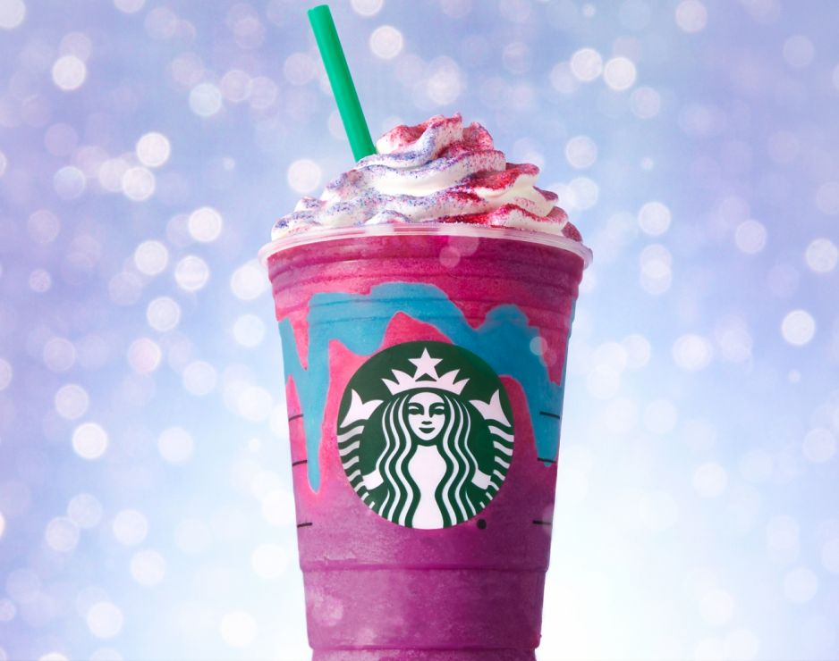 starbucks, unicorn, frapuccino,