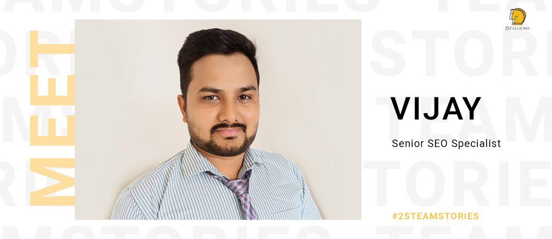Senior SEO Specialist, Vijay Mali