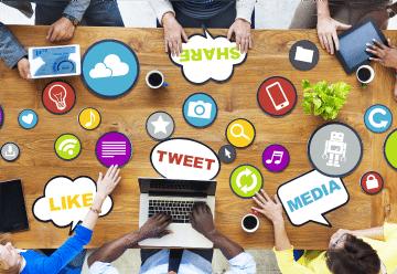 Advertise through social media