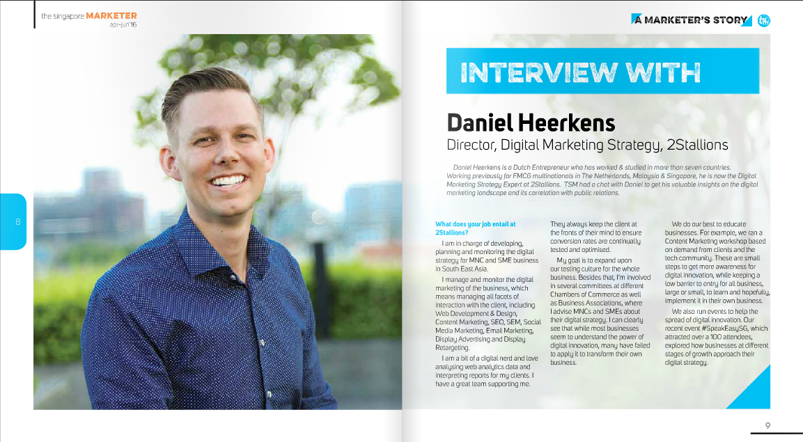 Daniel Heerkens Interview