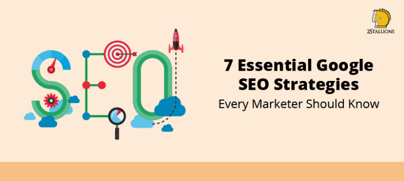 7 Google SEO Strategies For Marketers - feature