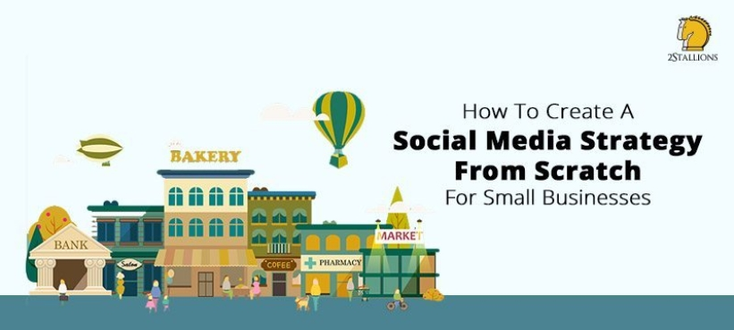 2Stallions social media strategy for small businesses title graphic